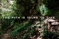 The Path Is Yours To Take